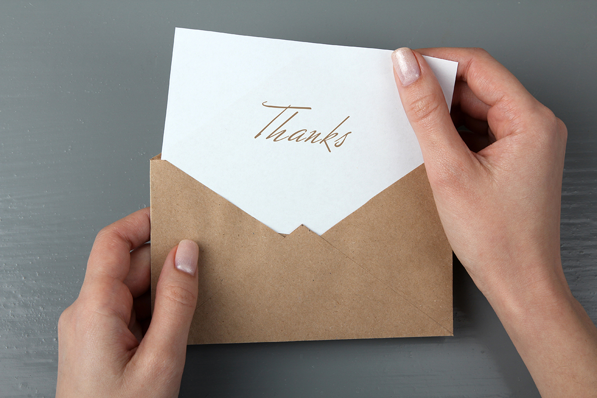 Against Thank You Cards - Quillette