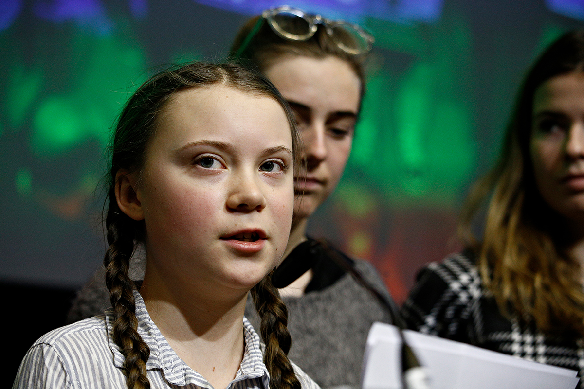 Editorial Every Child Needs Nourishment >> Self Harm Versus The Greater Good Greta Thunberg And Child Activism