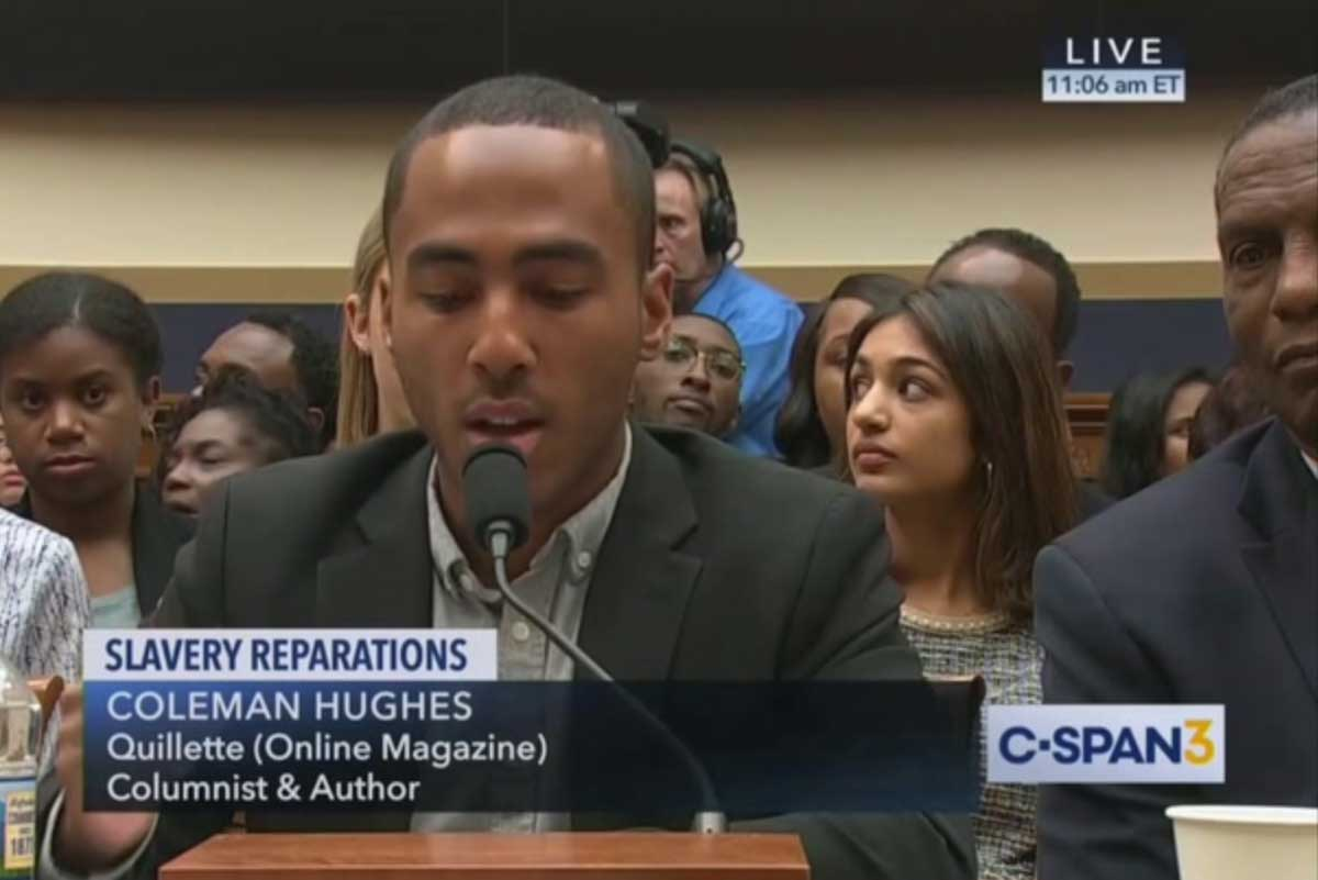 Congress Opens Up Damn Near Entire >> My Testimony On Reparations Quillette